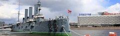 Panzerkreuzer Aurora, St. Petersburg